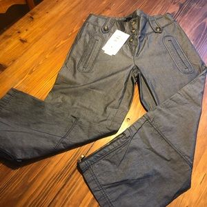 Laundry adorable pant with zippers size 0